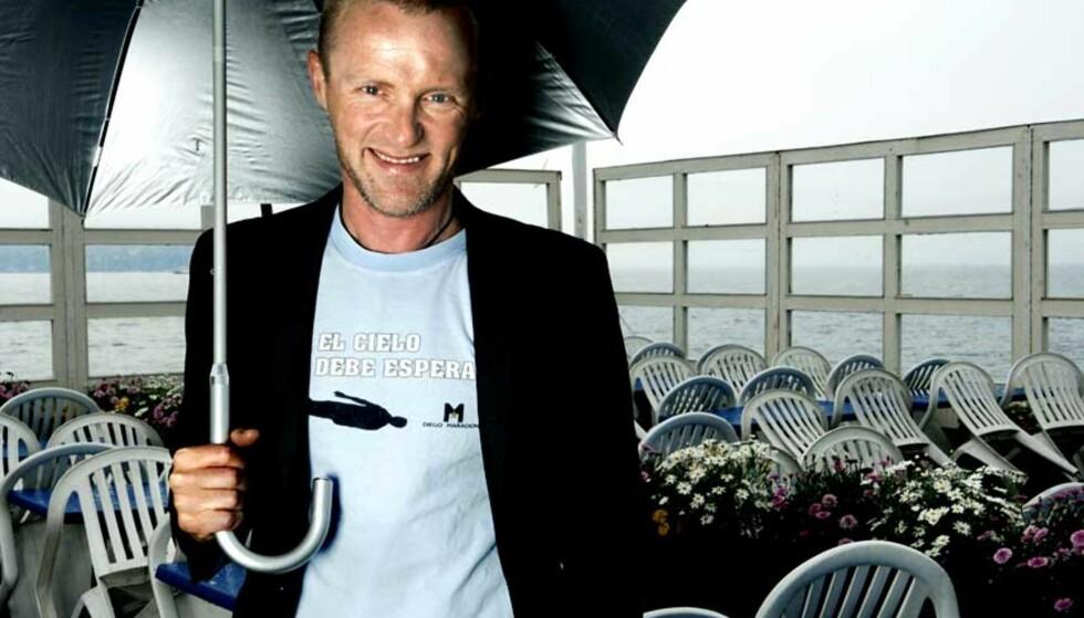 NY KRIMINALROMAN: Jo Nesbø skriver atter en gang om Harry Hole. Foto: STEINAR BUHOLM