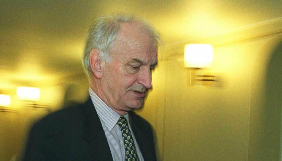 INNRØMMER: tidligere stortingsrepresentant og Frp-politiker Fridtjof Frank Gundersen innrømmer at han var informant for etterretningstjenesten. Foto: SCANPIX