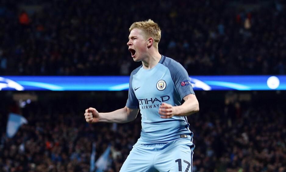 NR 8: Kevin De Bruyne er blitt en viktig del av Manchester City. Foto: Matt West/BPI/REX/Shutterstock