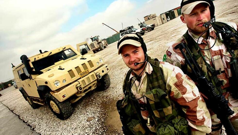 FÅR STØTTE AV BISTANDSORGANISASJONER: Care, Kirkens Nødhjelp og Flyktninghjelpen er ikke i mot norsk militær innsats i Afghanistan. Foto: Scanpix