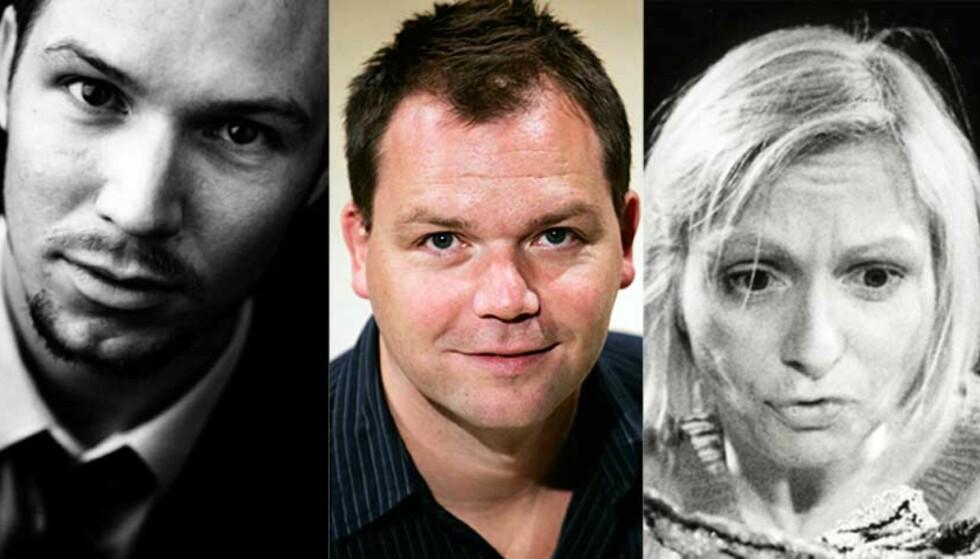TRE NOMINERTE: For første gang har juryen til Ibsenprisen nominert tre dramatikere før prisen deles ut. Foto: Ibsenprisen / Scanpix / Ibsenprisen