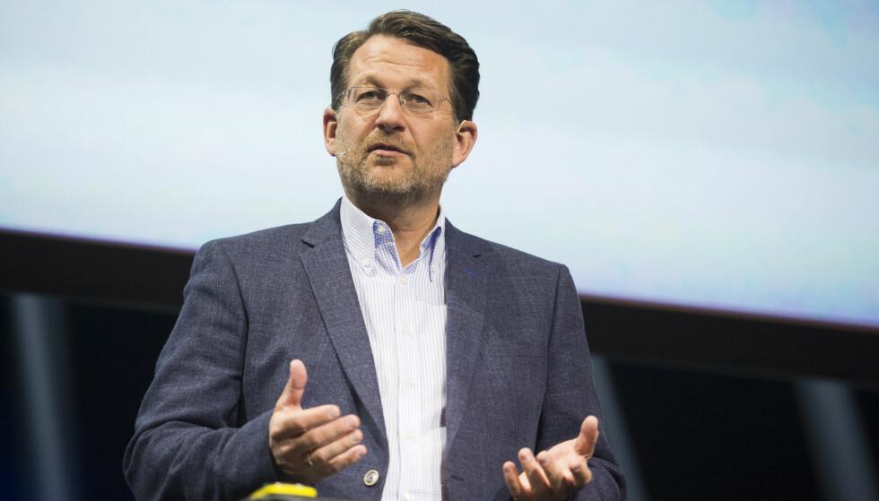 FERDIG: Administrerende direktør i Discovery Networks Norge og Sverige, Harald Strømme, slutter som toppsjef i selskapet. Foto: Jon Olav Nesvold / NTB scanpix