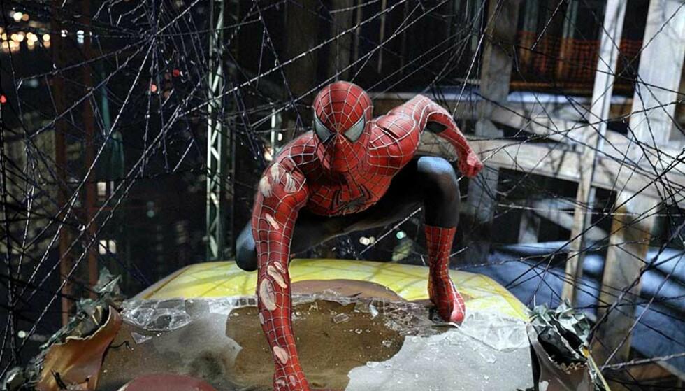 <strong><b>VIL FÅ IGANG FILDELINGSDEBATT:</strong></b> Unge Venstre vil gjøre fildeling lovlig, og får delvis støtte fra moderpartiet. Her et bilde fra den kommende «Spider-Man 3-filmen.