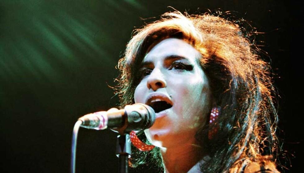 UTSOLGT: Amy Winehouse spilte for et utsolgt Rockefeller i januar. Foto: Frank Karlsen