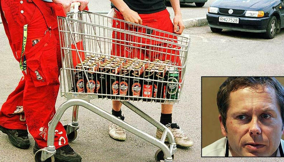 EKSKLUDERENDE FYLL: Schultz\' forskning viser at russetidens alkoholforbruk fører til at innvandrerungdom faller utenfor. Foto: Berit Keilen/ Heiko Junge/ SCANPIX