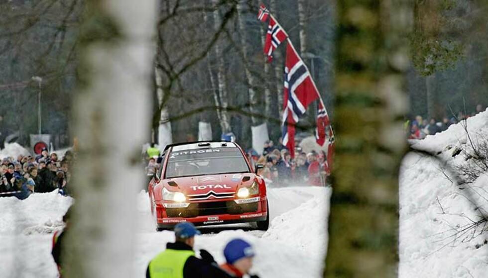 DYR MORO: Rally Norway var en sportslig suksess, men sliter økonomisk. Det kan skattebetalere få regningen for. Foto: Stian Lysberg Solum/Scanpix