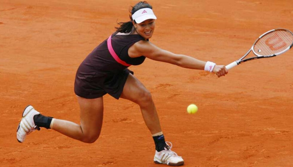 FINALEKLAR: Ana Ivanovic er klar for finalen i French Open, etter at hun slo ut Maria Sjarapova. Foto: REUTERS