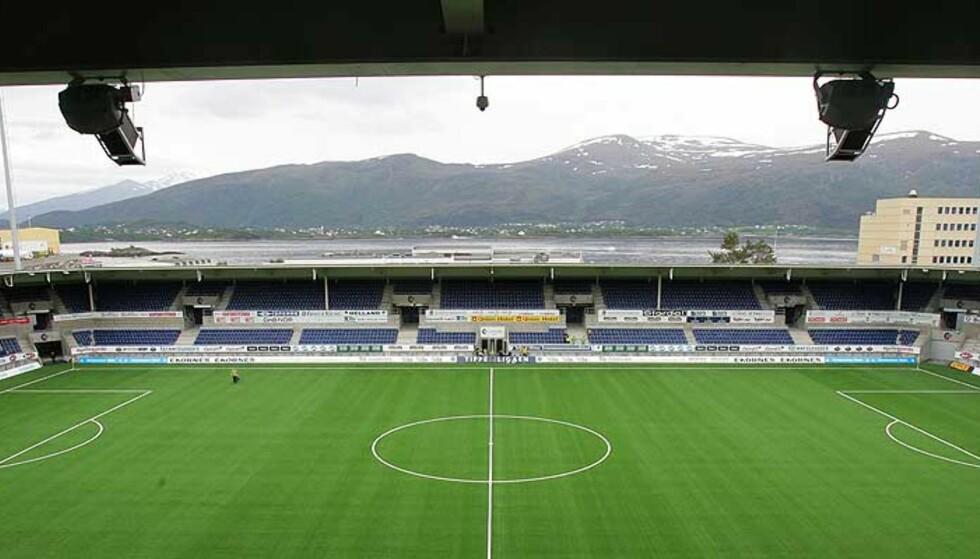 DYR STADIONLEIE: Aalesund betaler 10 millioner i året for å kunne spille hjemmekamper på Color Line Stadion. Foto: Håkon Mosvold Larsen, Scanpix