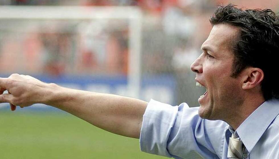 SPARKET: Lothar Matthäus hadde for sterke meninger om sin egen klubbs spillestil. Dermed fikk han sparken. Foto: Cesar Ferrari/Reuters/Scanpix