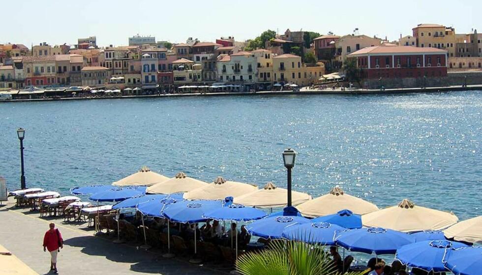 POPULÆRT: Chania er et yndet feriested på Kreta. Arkivfoto: Gunnar Lier / Scanpix