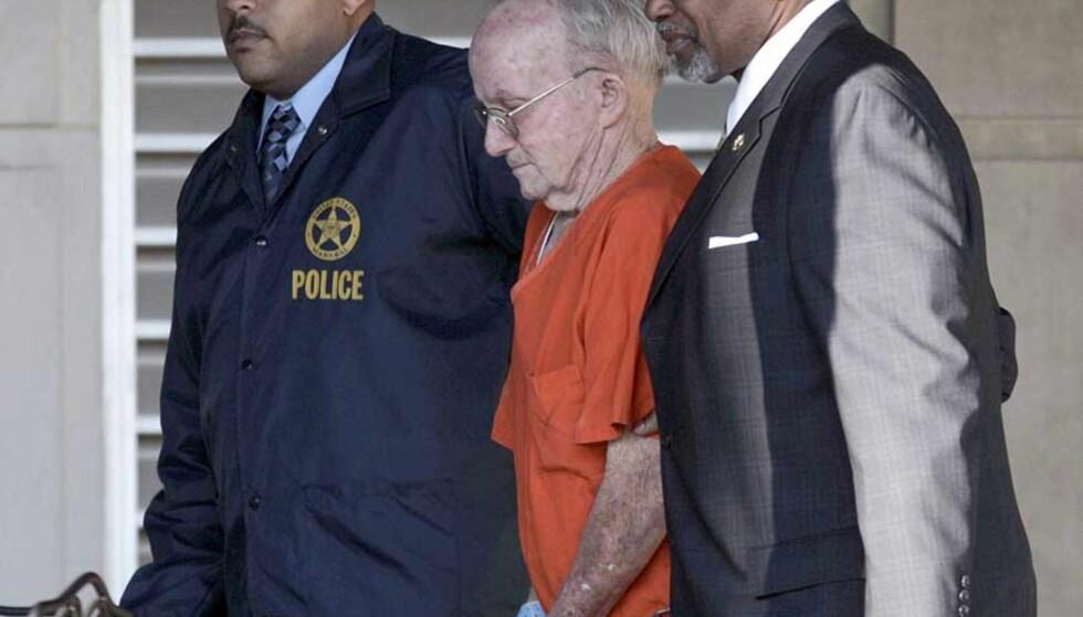 DØMT: James Ford Seale ble kjent skyldig i kindapping og sammensevergelse til drap på to tenåringer i 1964. Foto: KYLE CARTER/ Reuters