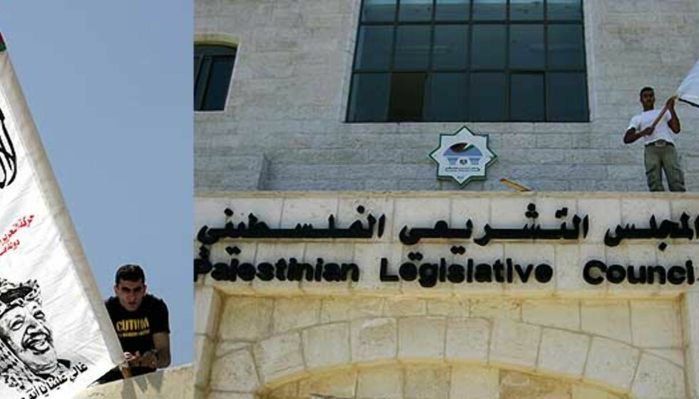 Fatah-styrker stormet regjeringslokaler