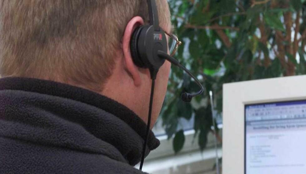 FORBUD: Regjeringen innfører forbud mot telefonsalg i helgene. Om ikke bransjen skjerper seg kan det bli totalforbud. Illustrasjonsfoto: Morten Holm / SCANPIX