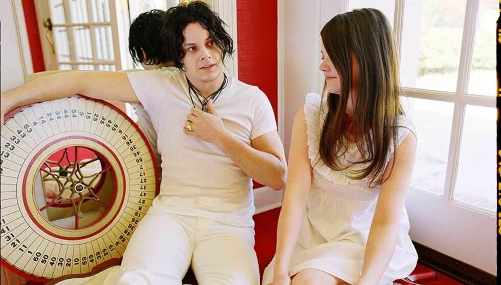 TØFFE TAK: «Icky Thump» oppdaterer og ekspanderer Jack og Meg Whites patenterte sound. Foto: PLAYGROUND