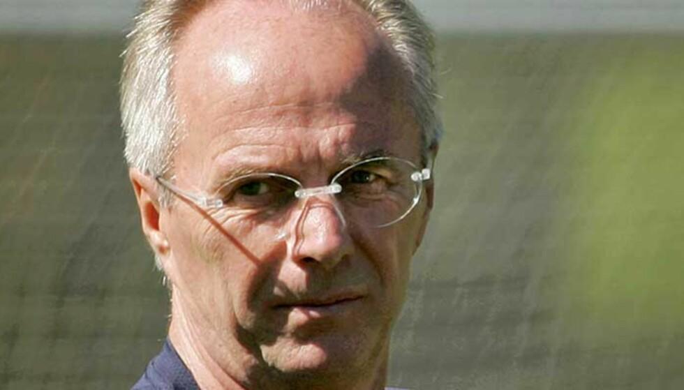 UØNSKET: Manchester City-supporterne vil ikke ha Sven-Göran Eriksson som sjef. Foto: AP