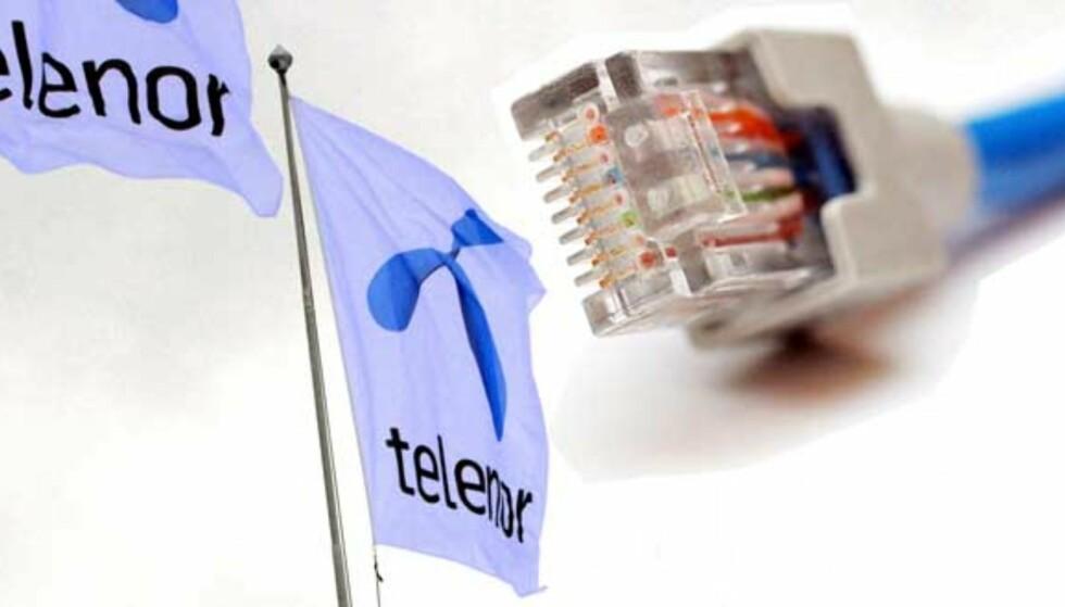 BRYTER UT: Når Telenor nå bryter ut av interntt-trafikksentralen NIX, varsler det om slutt på nettets nøytralitet i Norge. Fotomontasje: SCANPIX/DAGBLADET.NO