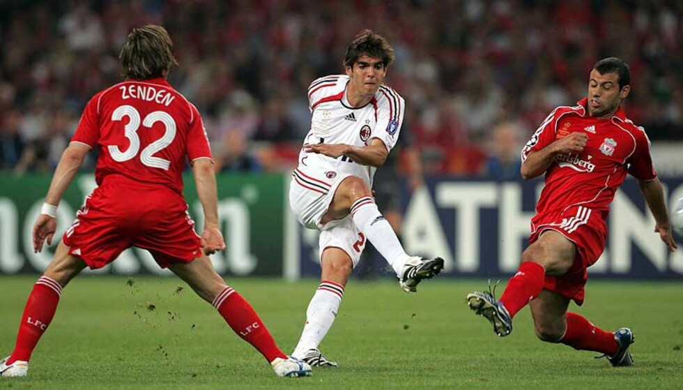 SKIFTER BEITE?: Real Madrid skal etter sigende ha lagt inn et bud på 646 millioner kroner for Kaká. Foto:Orestis Panagiotou