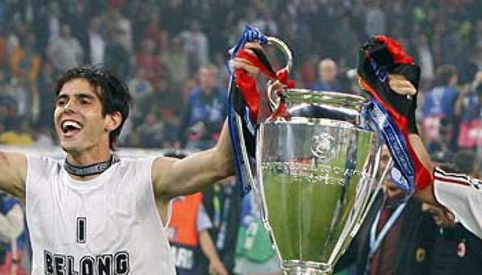 - Real byr 646 mill. for Kaká