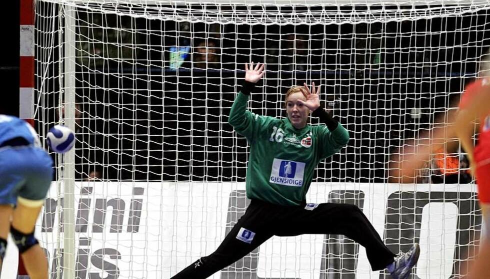 BB:Kathrine Lunde var Norges beste spiller da damelandslaget slo Sør-Korea med ett mål torsdag. Arkivfoto:Scanpix