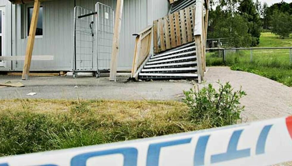 Stenger 16 brakkebygg etter barnehage-kollaps