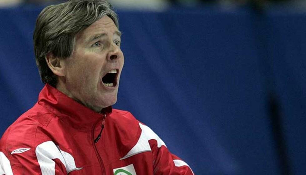 VILLE IKKE MØTE SVENSKENE: Gunnar Pettersen er fornøyd med håndballherrenes EM-trekning. Foto: Reuters