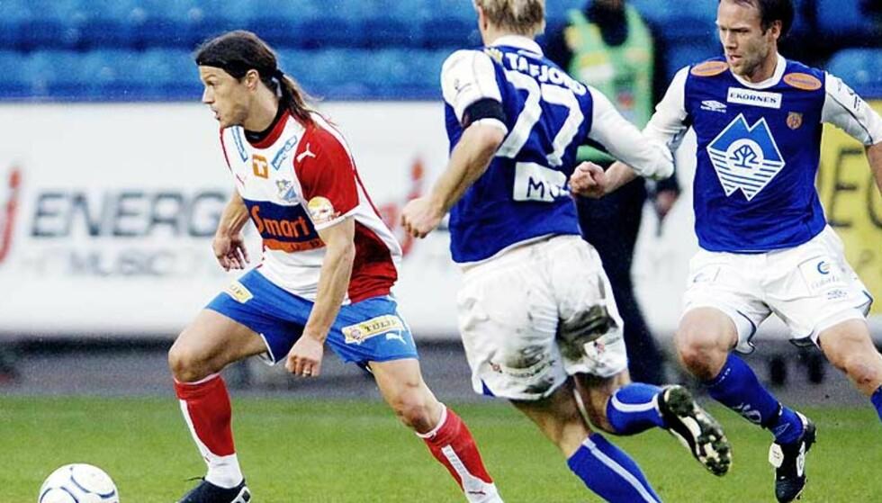 FOR DYR: Hvis Matias Almeyda skulle fortsatt i Lyn, ville han blitt en kostbar mann for klubben. Foto: John Terje Pedersen, Dagbladet