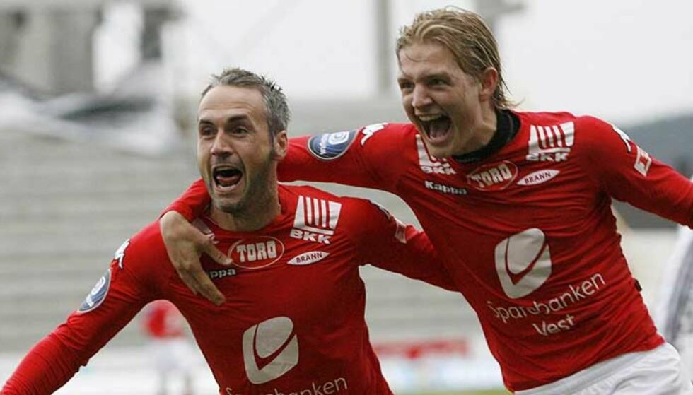 ETTERTRAKTET: Erik Huseklepp er ønsket av Lillestrøm fra før. Nå er Viking også interessert, ifølge Bergensavisen. Foto: Torbjørn Berg, Dagbladet