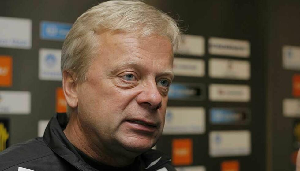 KRITISK: Anders Grönhagen mener Morgan Andersen kunne ha spart seg for kritikken mot Strømsgodset - et lag som faktisk slo Fredrikstad. Foto: SVEIN OVE EKORNESVÅG/SCANPIX