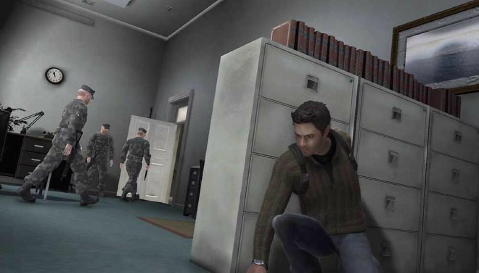 BLIR SPILL: Det kommer neppe som noen overraskelse at det kommende spillet basert på «The Bourne Identity» blir et actionspill. Foto: SIERRA ENTERTAINMENT