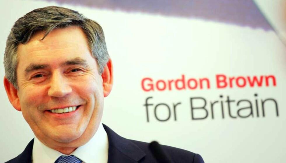 NY LEDER: Gordon Brown har vært Storbritannias finansminister siden 1997. I dag overtar han stillingen som landets statsminister. Foto: ADRIAN DENNIS/AP/Scanpix