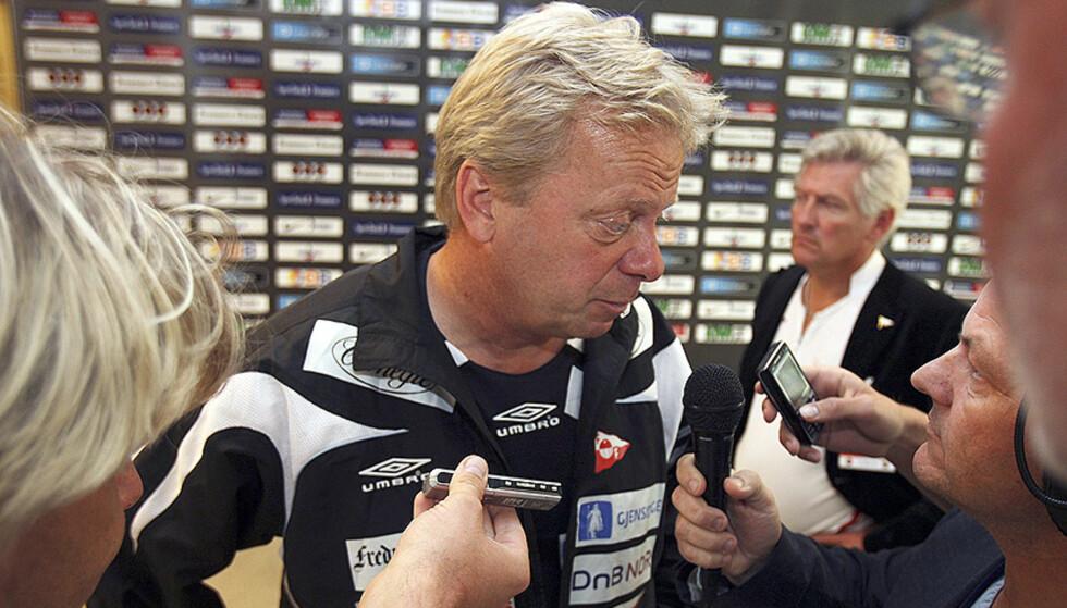 OFFENSIV: FFK-trener Anders Grönhagen sier han allerede har glemt cuptapet for Nybergsund. Nå fokuserer han på å få revansje mot Odd Grenland på søndag. Foto: LISE ÅSERUD/SCANPIX