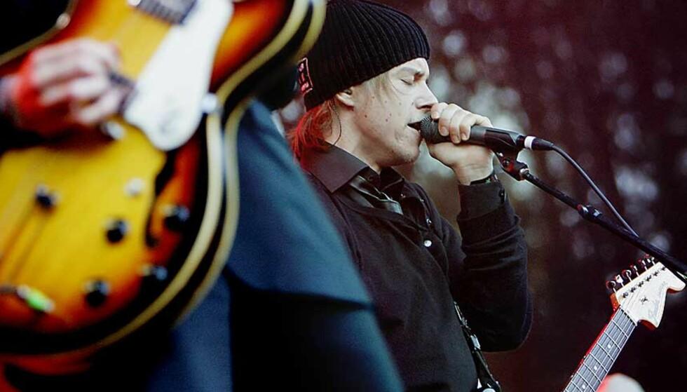 STAUTE KARER: Interpol med vokalist Paul Banks og gitarist Daniel Kessler i spissen. Foto: LARS EIVIND BONES