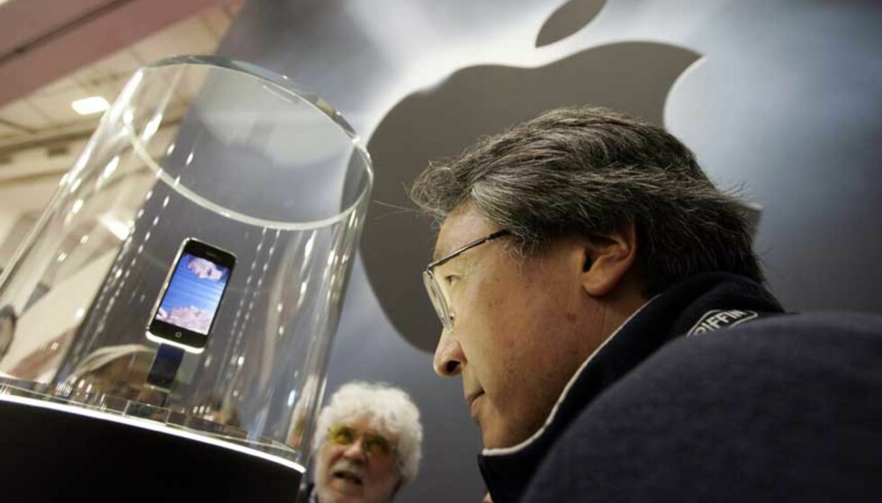 HØYE FORVENTNINGER: iPhone-hysteriet kjenner ingen grenser. Men kan Apples iPod-telefon leve opp til forventningene? Foto: AP/SCANPIX