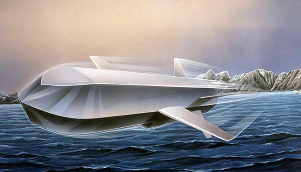 NYE MISSILER: Forsvaret kjøper nye sjøvannsmissiler fra Kongsberg Defence & Aerospace. Foto: Forsvaret