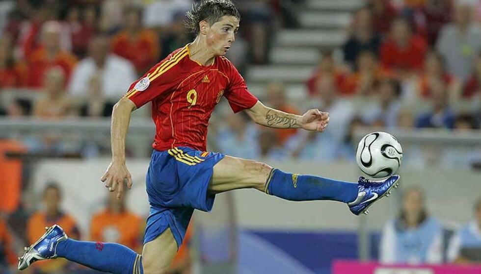 IVRER ETTER LIVERPOOL: Fernando Torres skal være villig til å fire på kravene for å bli Liverpools nye spiss. Foto: Scanpix/Ap