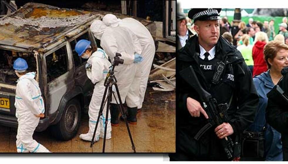 -  Var på sporet av Glasgow-bomberne før angrepet