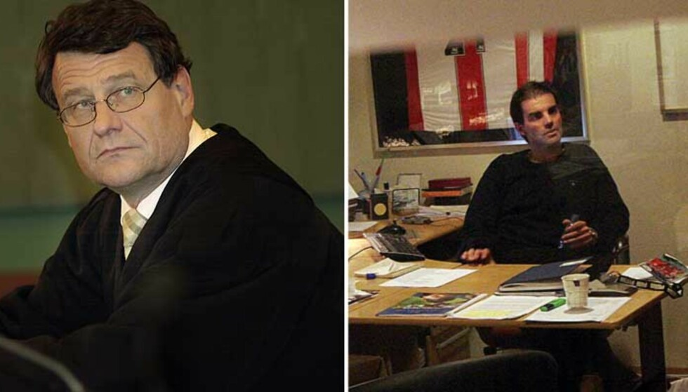 FÅR ADVARSEL: Cato Schiøtz og Morgan Andersen mener en Lyn-ansatt lyver for å verne seg selv. Det liker ikke Lyn-direktør Erik Langerud. Foto: Scanpix