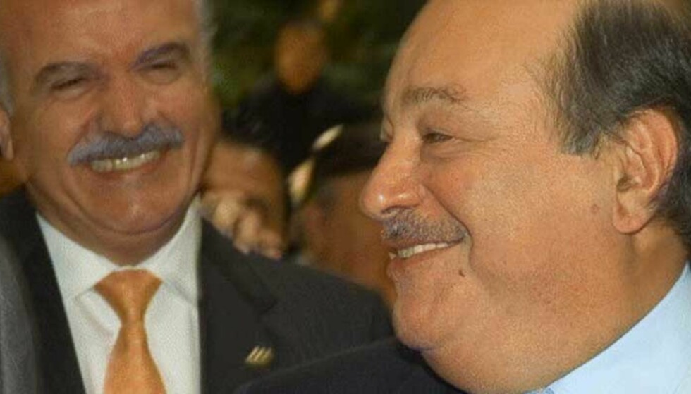 DOLLARGLIS: Carlos Slim Helu har tjent stort på børsoppgangen de siste månedene. Foto: SCANPIX