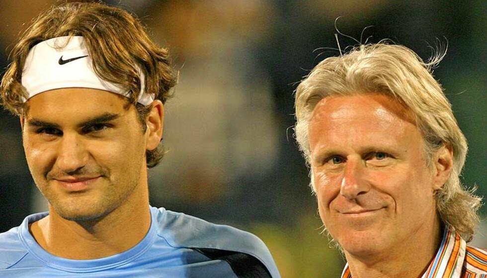 ARVTAGER: Roger Federer kan bli den første til å vinne fem Wimbledon-titler på rad siden Björn Borg. Foto: VICTOR ROMERO/AP/SCANPIX