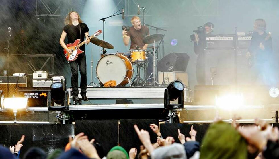 NÅ OGSÅ POLITISK: BigBang brukte Roskilde-scenen til å kritisere Norges troppebidrag til Afghanistan samtidig som myndighetene returnerer flyktninger til landet. Foto: KRISTIAN RIDDER-NIELSEN
