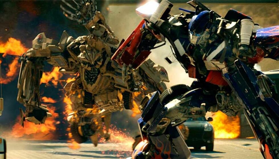 """HÅVER INN: """"Transformers""""-filmen har blitt en kommersiell suksess. Foto: FILMWEB"""