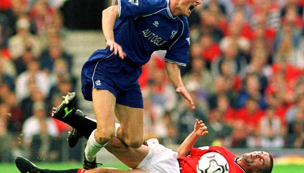 GAMLE KJENTE: Roy Keane kjenner Tore André Flo også fra nordmannens tid i Chelsea. Foto: Scanpix/Epa