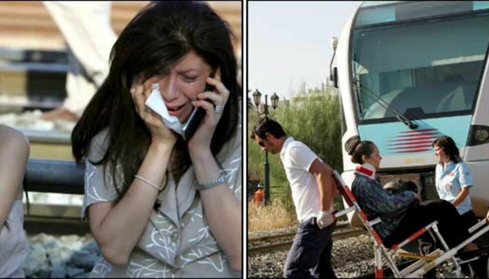 Minst 49 skadd i togkrasj i Aten