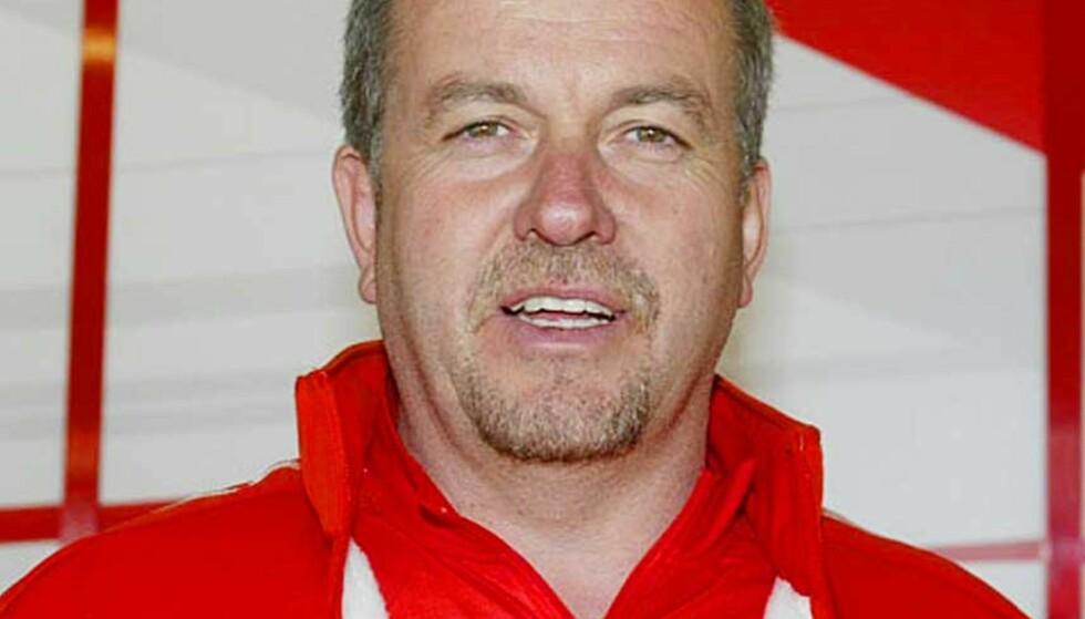 FIKK SPARKEN: Nigel Stepney fikk sparken av Ferrari etter å ha blitt beskyldt for å gi teknisk informasjon til konkurrenten McLaren. Arkivfoto: AP/SCANPIX