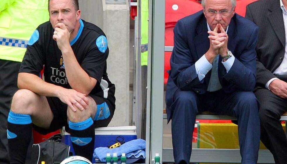 GODT I GANG: Manchester City vant sin første kamp under Sven Göran Eriksson, men møtte relativt enkel motstand. Foto: ANDREW YATES/AFP/SCANPIX