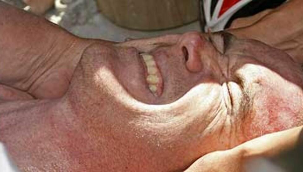 O\' Grady krasjet ut av Tour de France