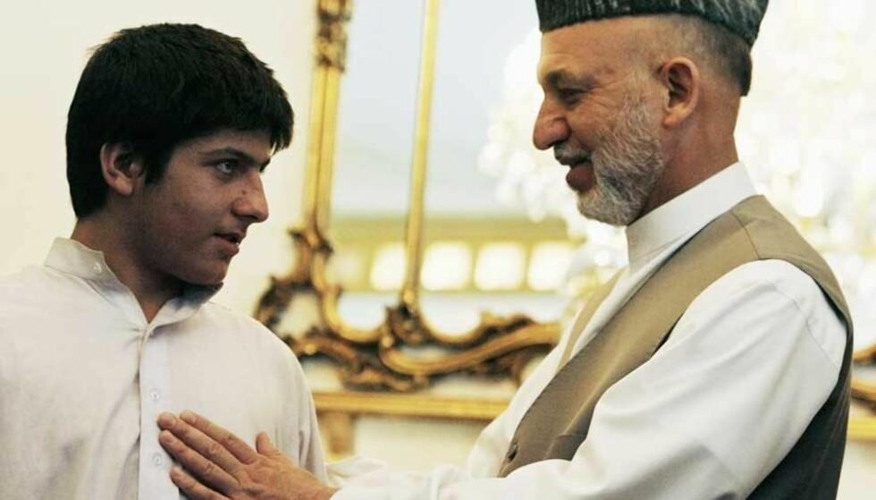 TILGITT: Rafiqullah er personlig tilgitt av Hamid Karzai. Foto: AHMAD MASOOD/Reuters/Scanpix