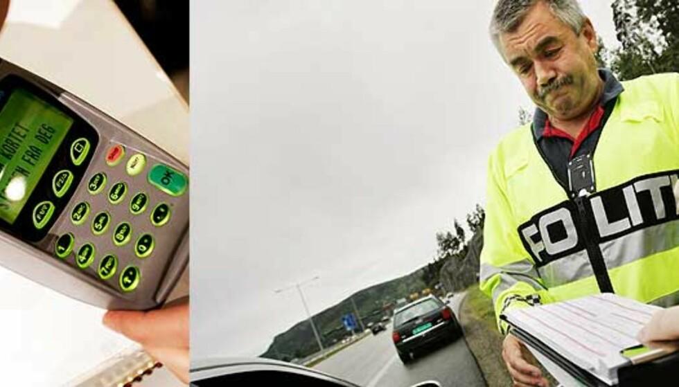 Politi på Østlandet utstyres med kortterminal