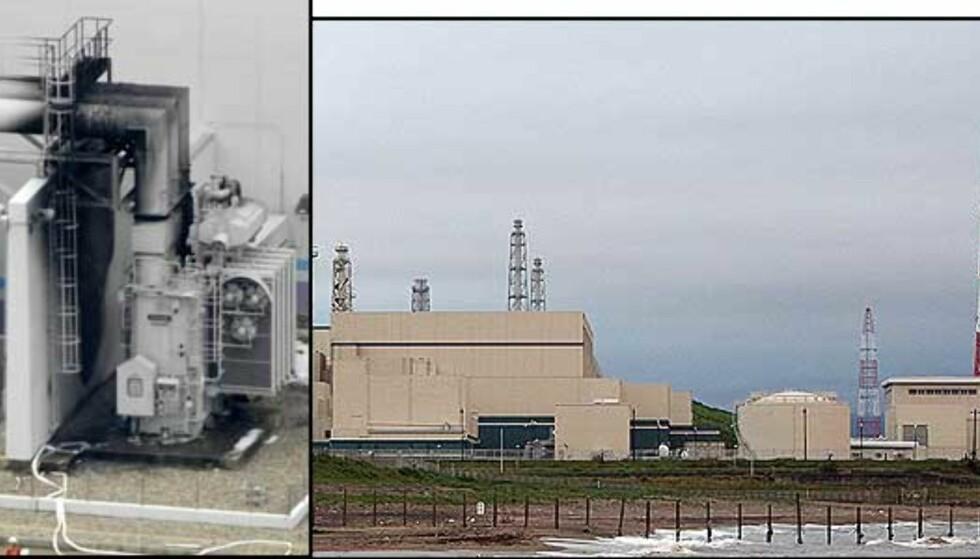 Verdens største atomreaktor lekker