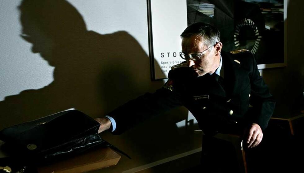- IKKE PRESSET: Politimester Arnstein Gjengedal hevder politiets pågående granskning asv den private sikkerhetsbransjen ikke ble påvirket av Røkkes Aker eller andre aktører. Foto: SCANPIX